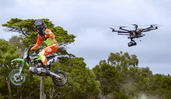 Drone sports video production online