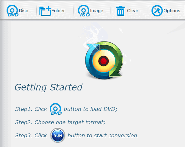 WinX Home Screen - How to Convert DVD to MP4