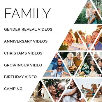 family product image - Family Video Editing Service