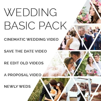 wedding basic pack - wedding basic pack starts @ $80